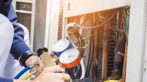 شارژ گاز داکت اسپلیت